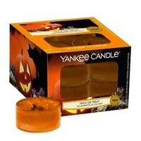 Yankee Home Inspiration Tea Lights Trick or Treat 12 Pack