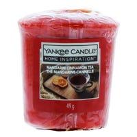 Yankee Home Inspiration Votive Candle in Mandarin Cinnamon Tea 49g