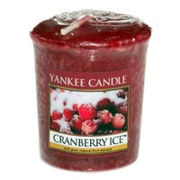 Yankee Candle Home Inspiration Votive Candle Cranberry Ice 49g