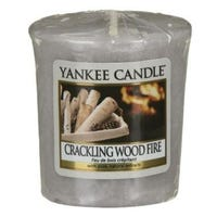 Yankee Classic Crackling Wood Fire Votive