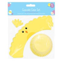 Easter Character Cup Cake Set Chick 10 Pack