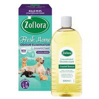 Zoflora Fresh Home Odour Remover and Disinfectant Coastal Breeze 500ml