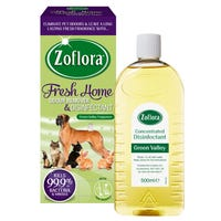 Zoflora Fresh Home Odour Remover and Disinfectant Green Valley 500ml