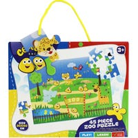 Cbeebies Zoo Puzzle 45 Piece